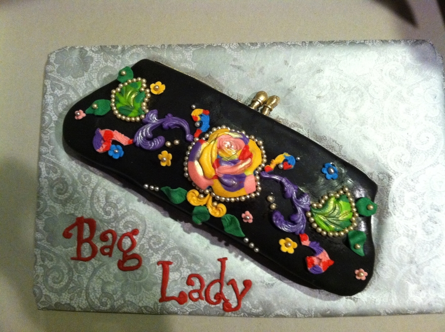 Clutch Bag Cake on Cake Central