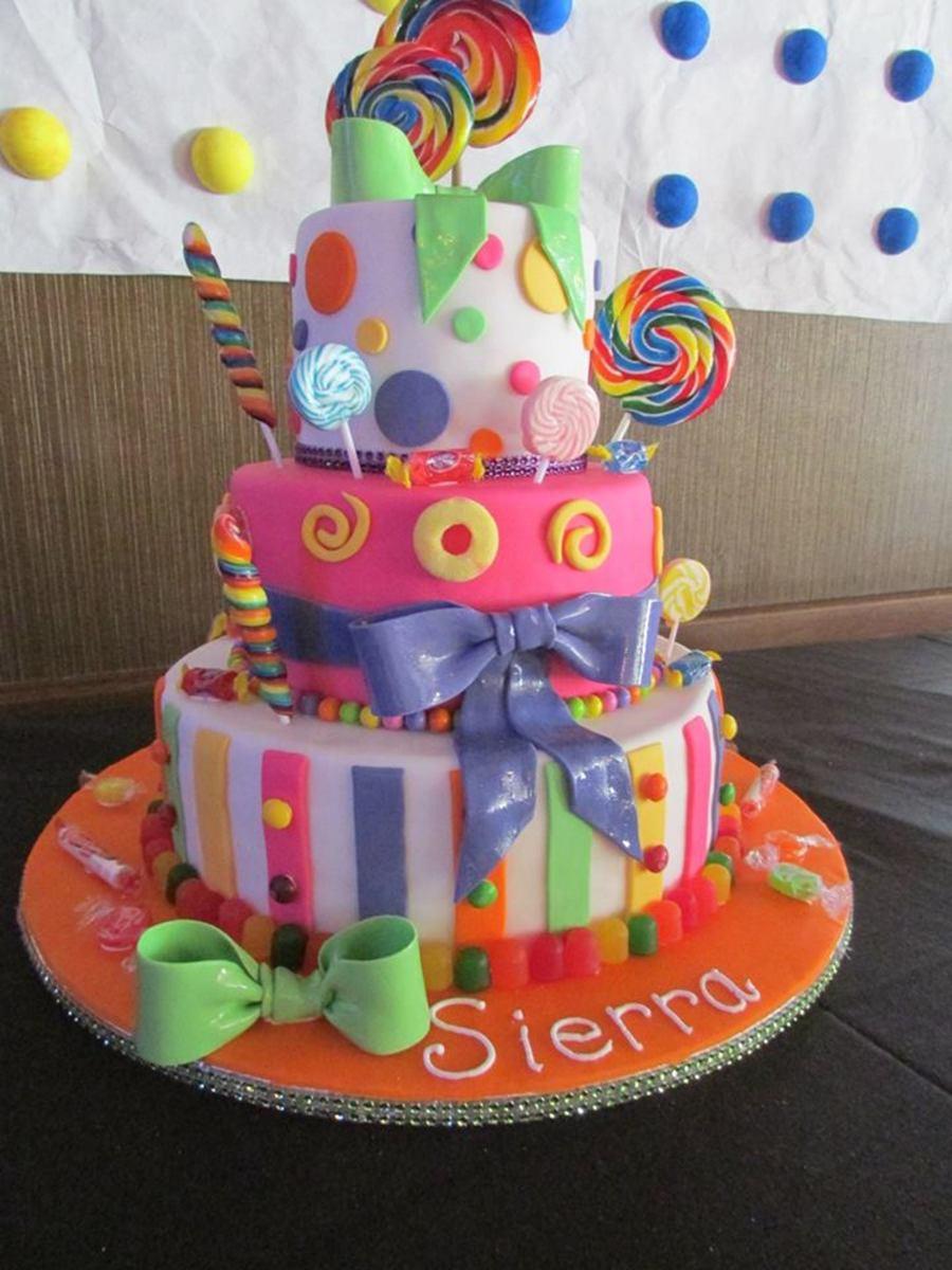 Candy Cake Cakecentral Com