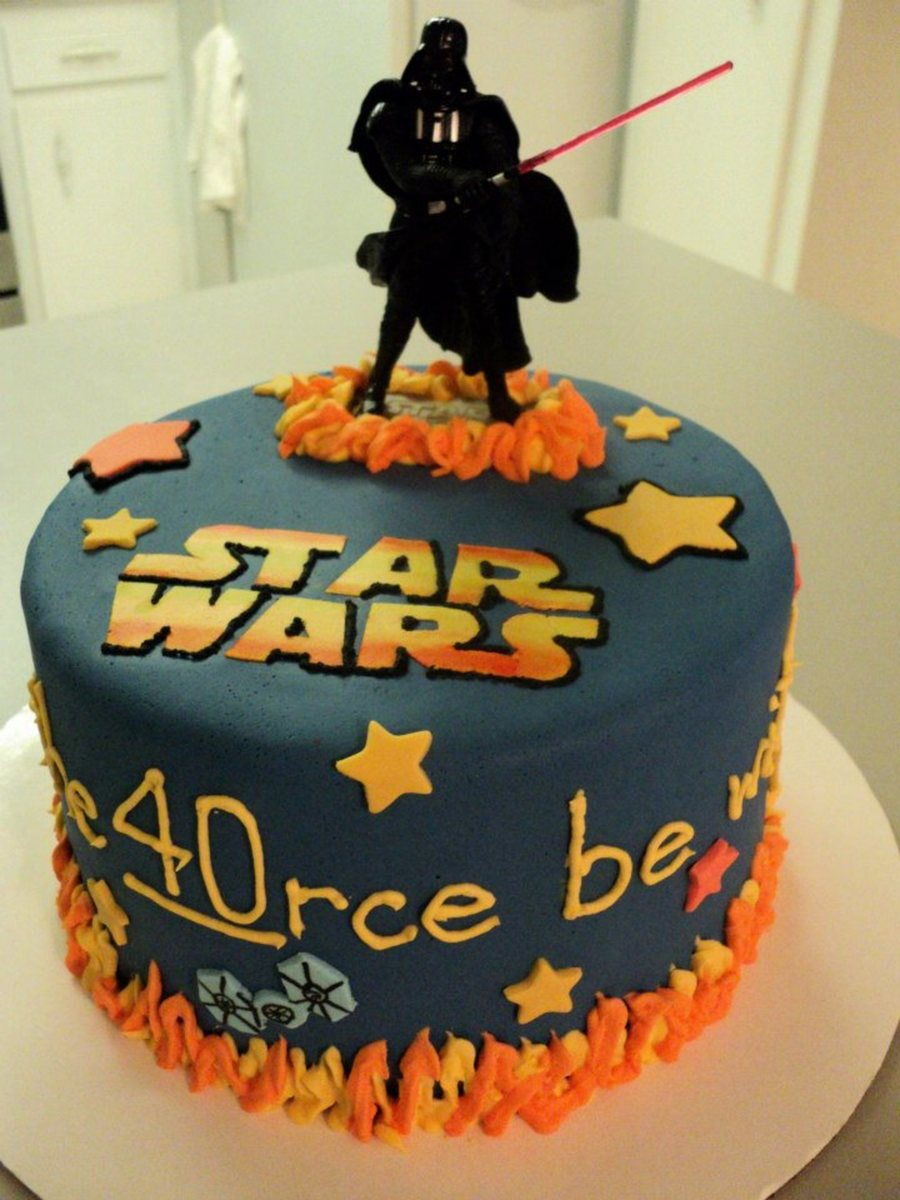 Star Wars Birthday Cakecentral Com