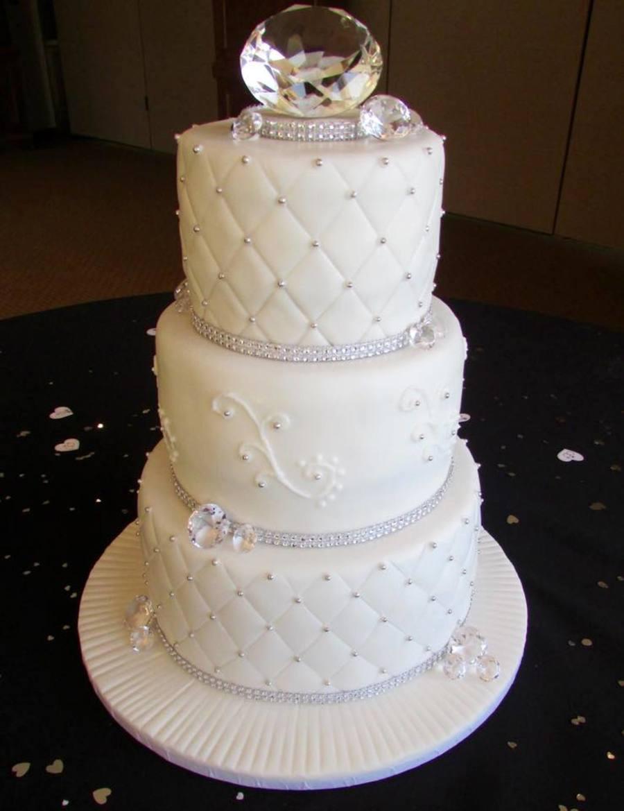 Diamond Anniversary - CakeCentral.com