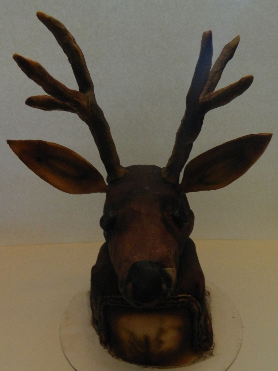 Deer Head  on Cake Central