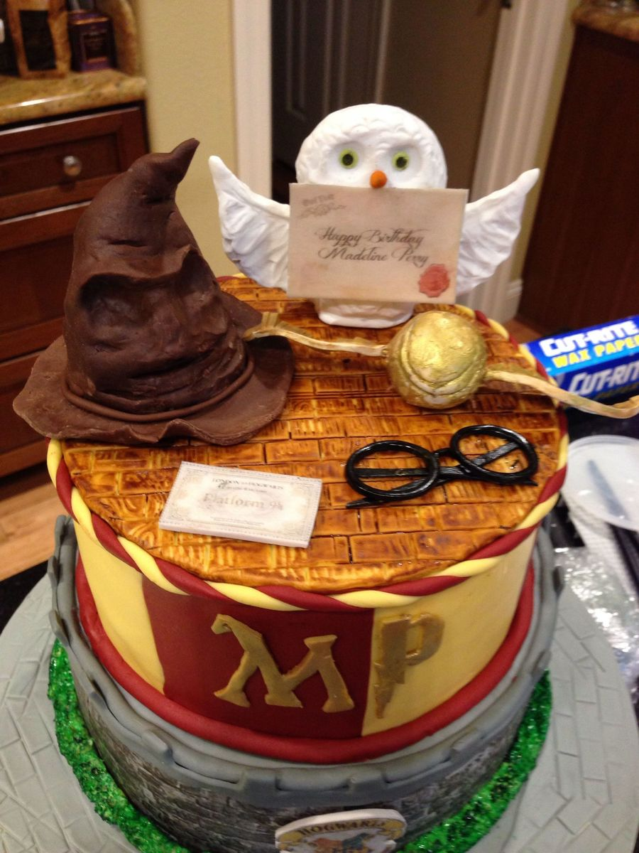Cool Harry Potter Birthday Cake Cakecentral Com Personalised Birthday Cards Paralily Jamesorg