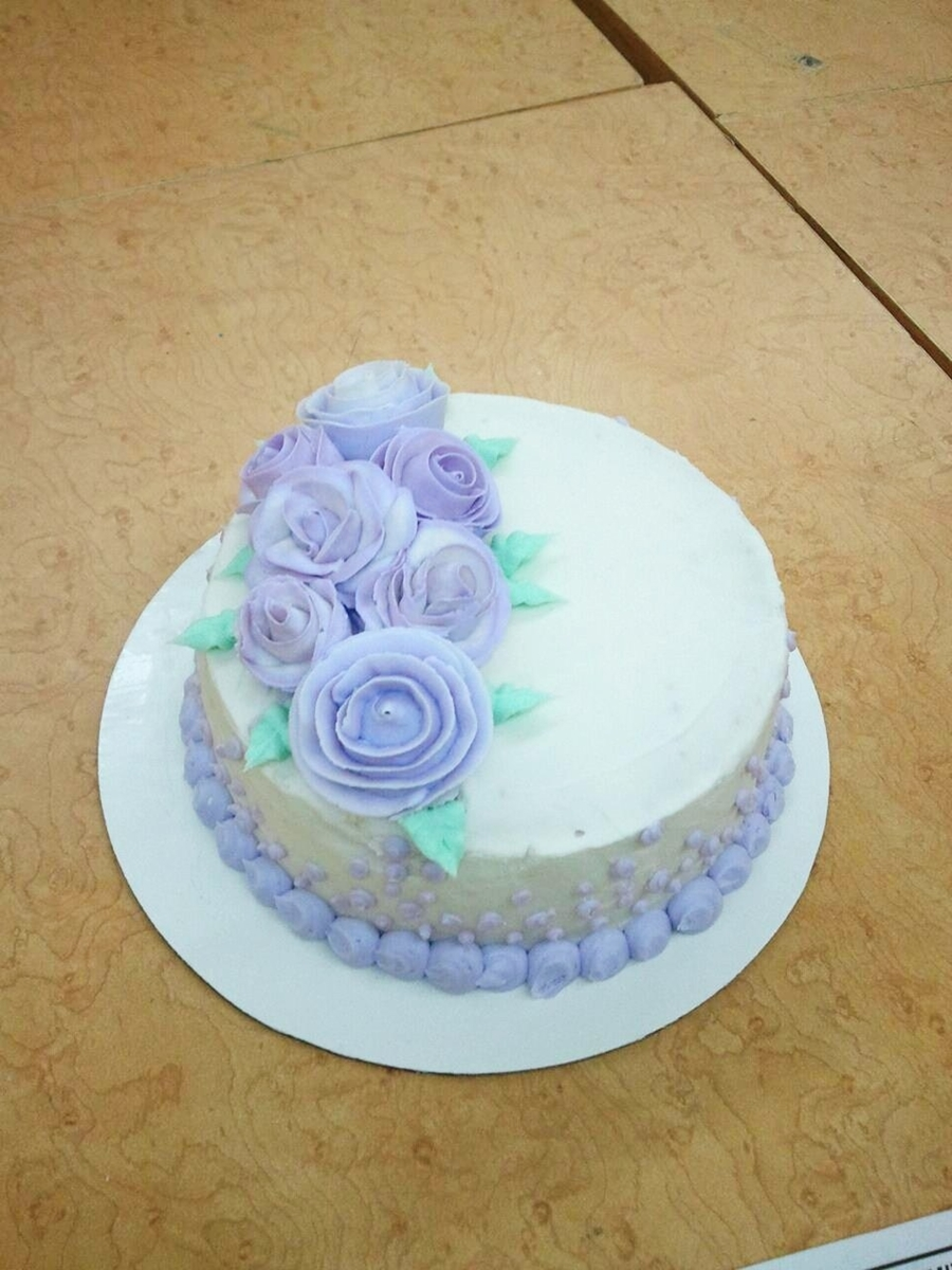 Final Cake For Class on Cake Central