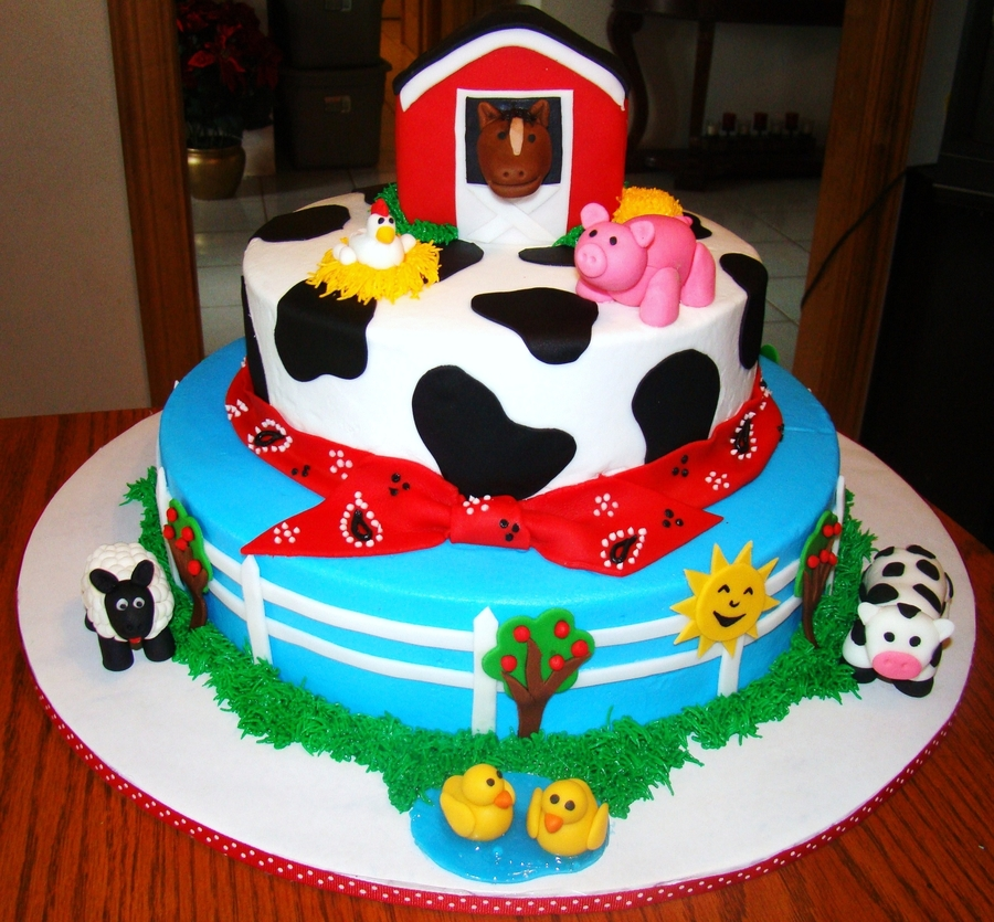 Farm Animals on Cake Central