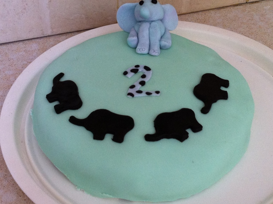 Elephants On Parade on Cake Central