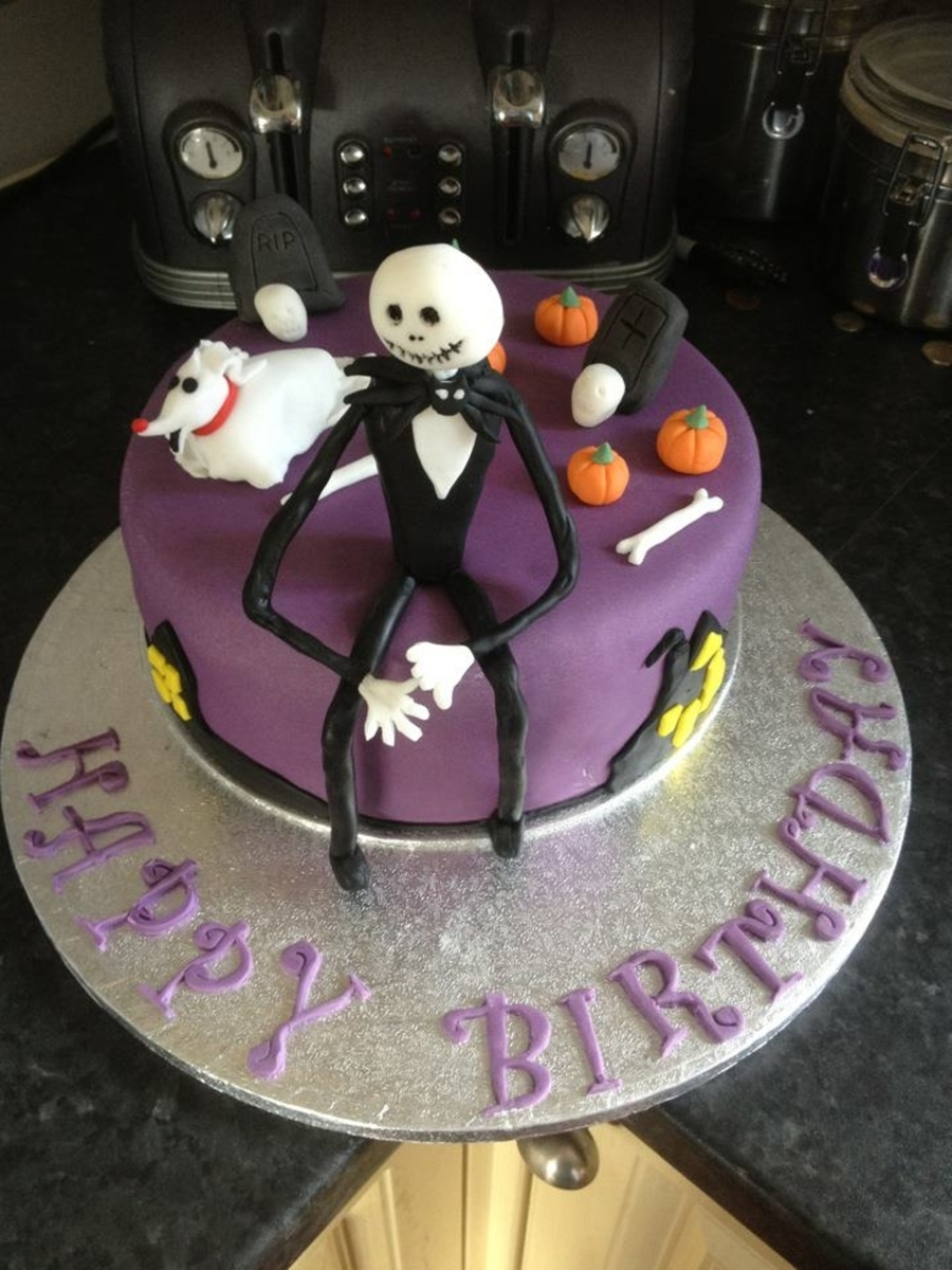 Nightmare Before Christmas Cake on Cake Central