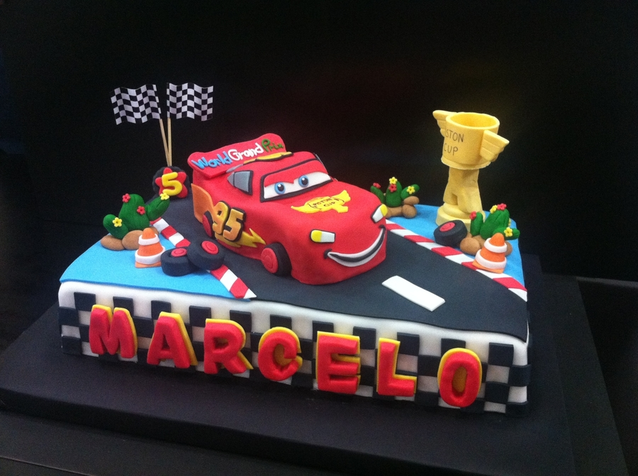 Mcqueen Cake - CakeCentral.com