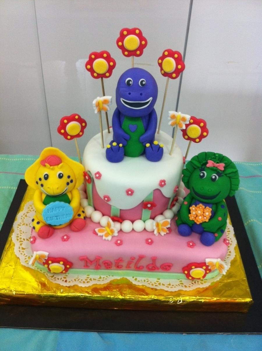 Barney Cake Cakecentral Com