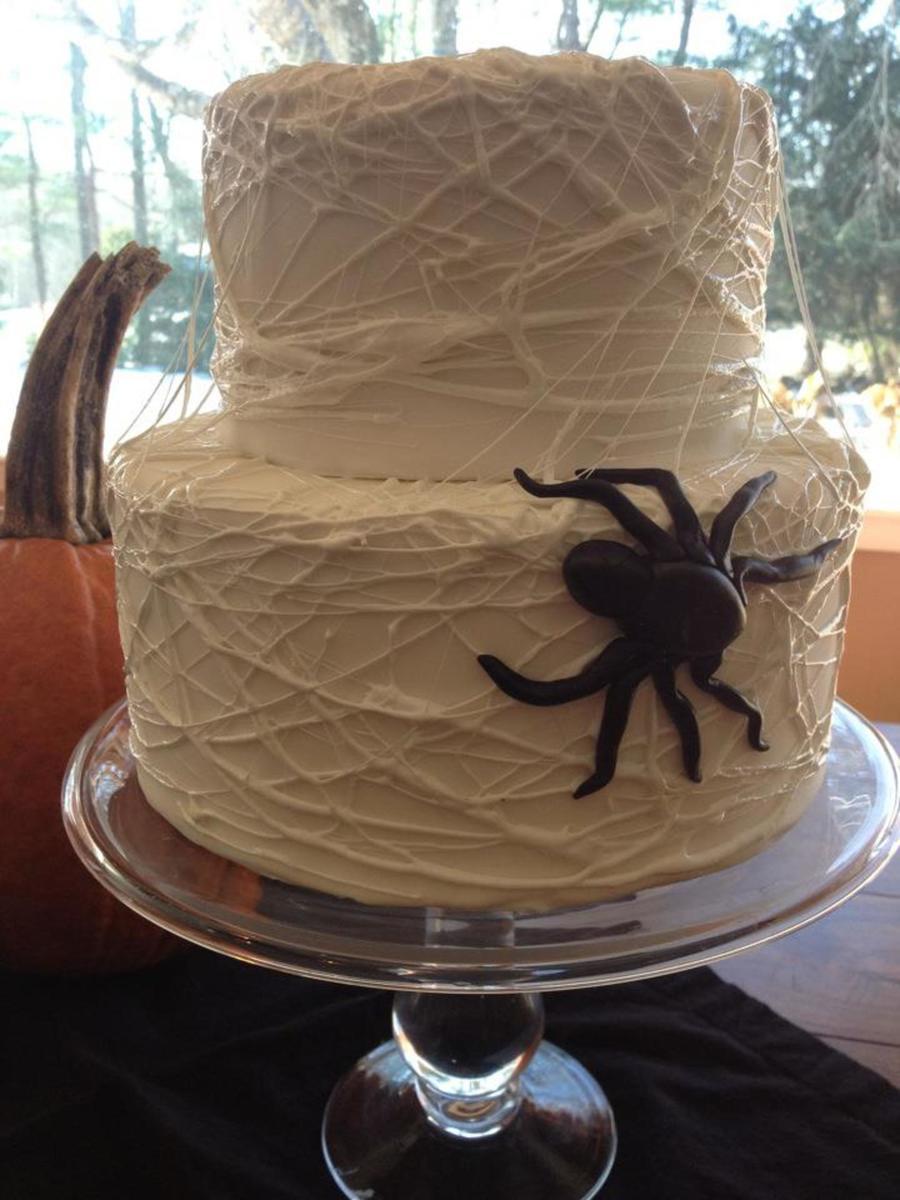 Spider Web Cake Cakecentral Com