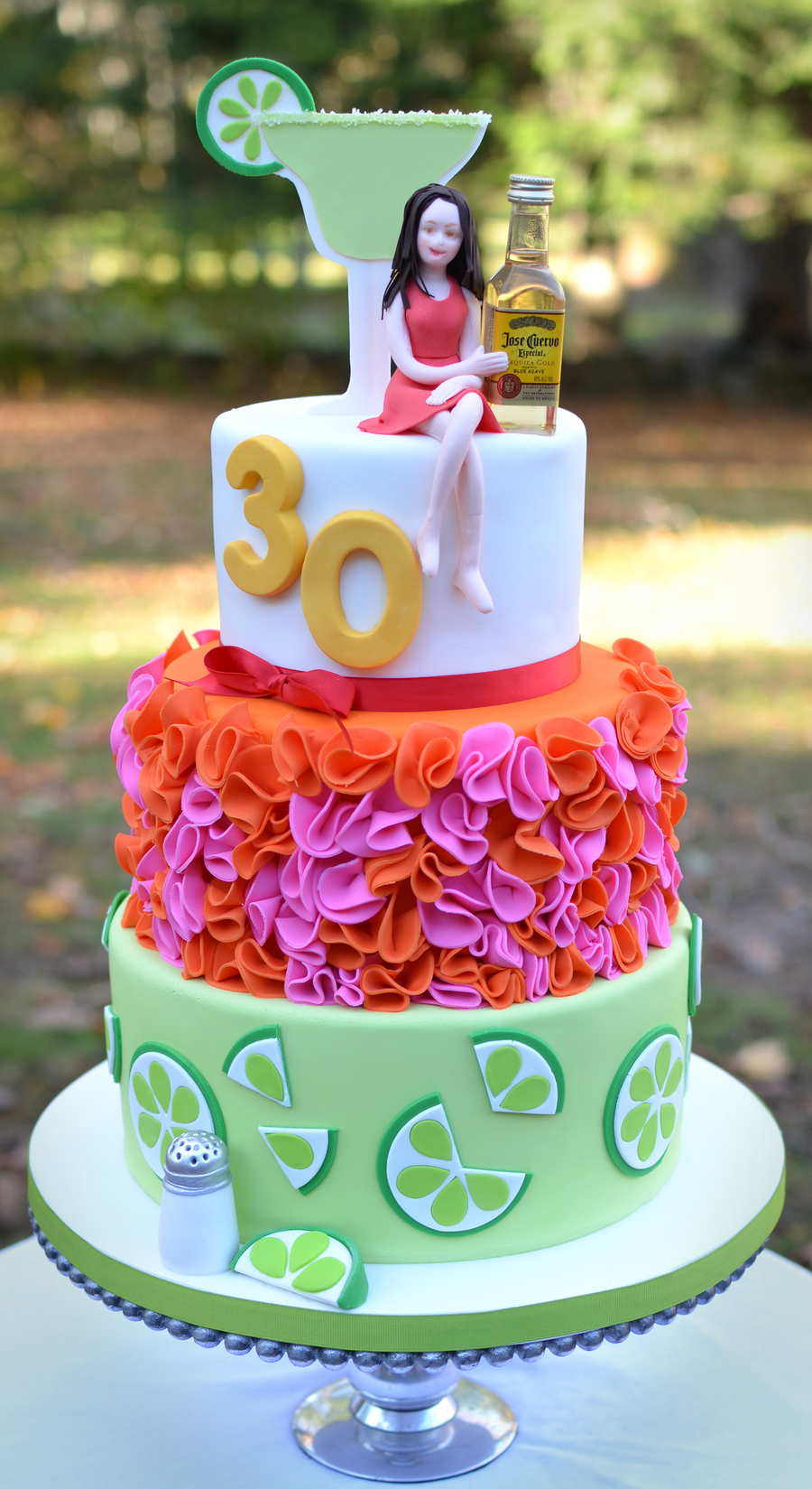 Margarita And Tequila Themed 30th Birthday Cake