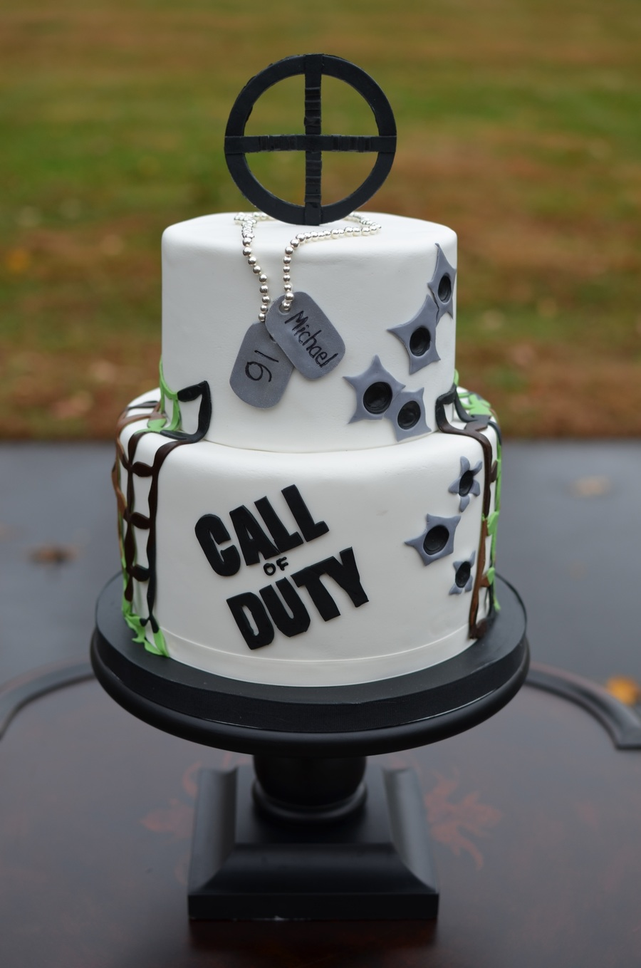 Swell Call Of Duty Birthday Cake Cakecentral Com Funny Birthday Cards Online Inifodamsfinfo