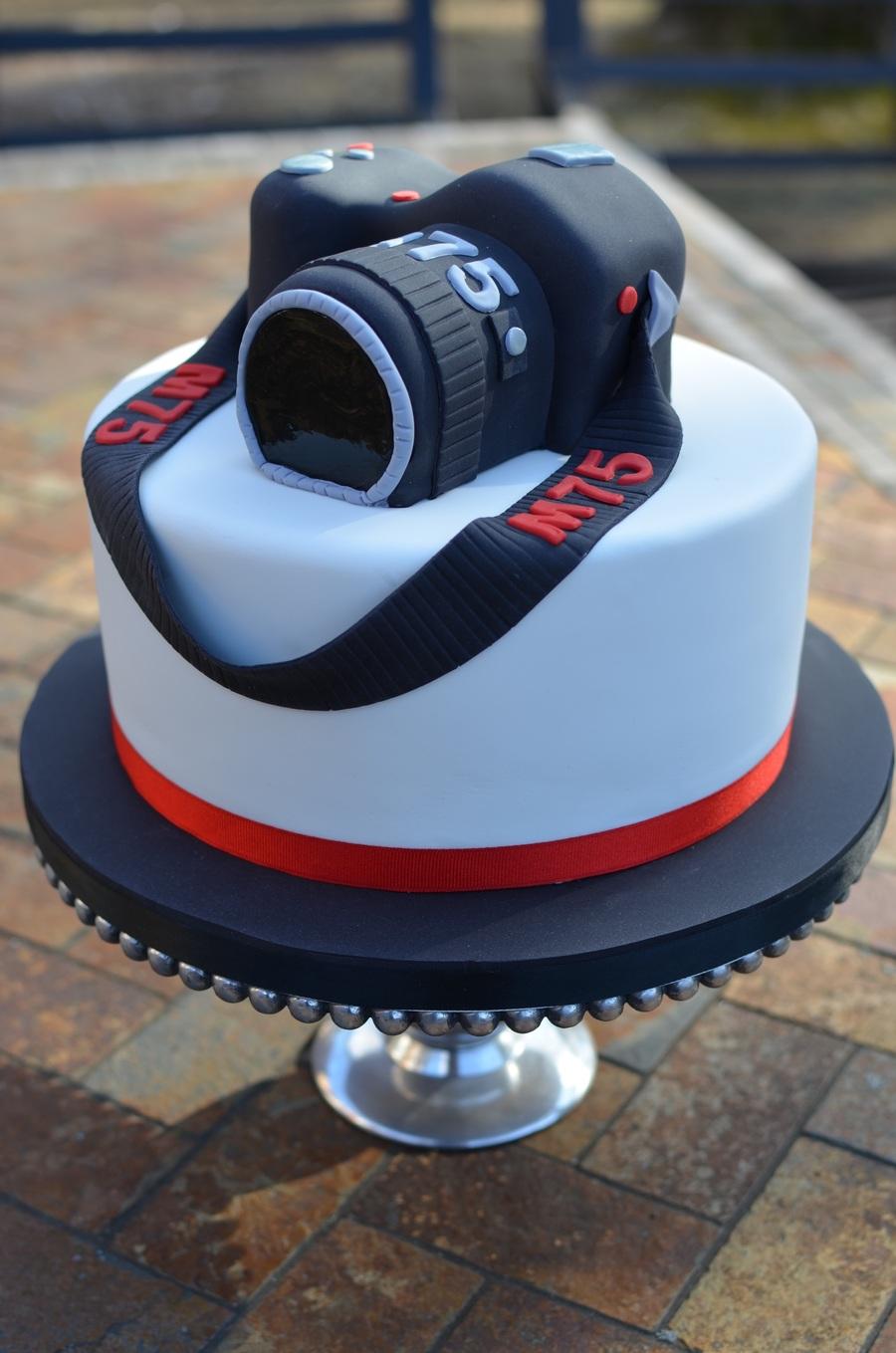Super Camera Birthday Cake Cakecentral Com Funny Birthday Cards Online Benoljebrpdamsfinfo