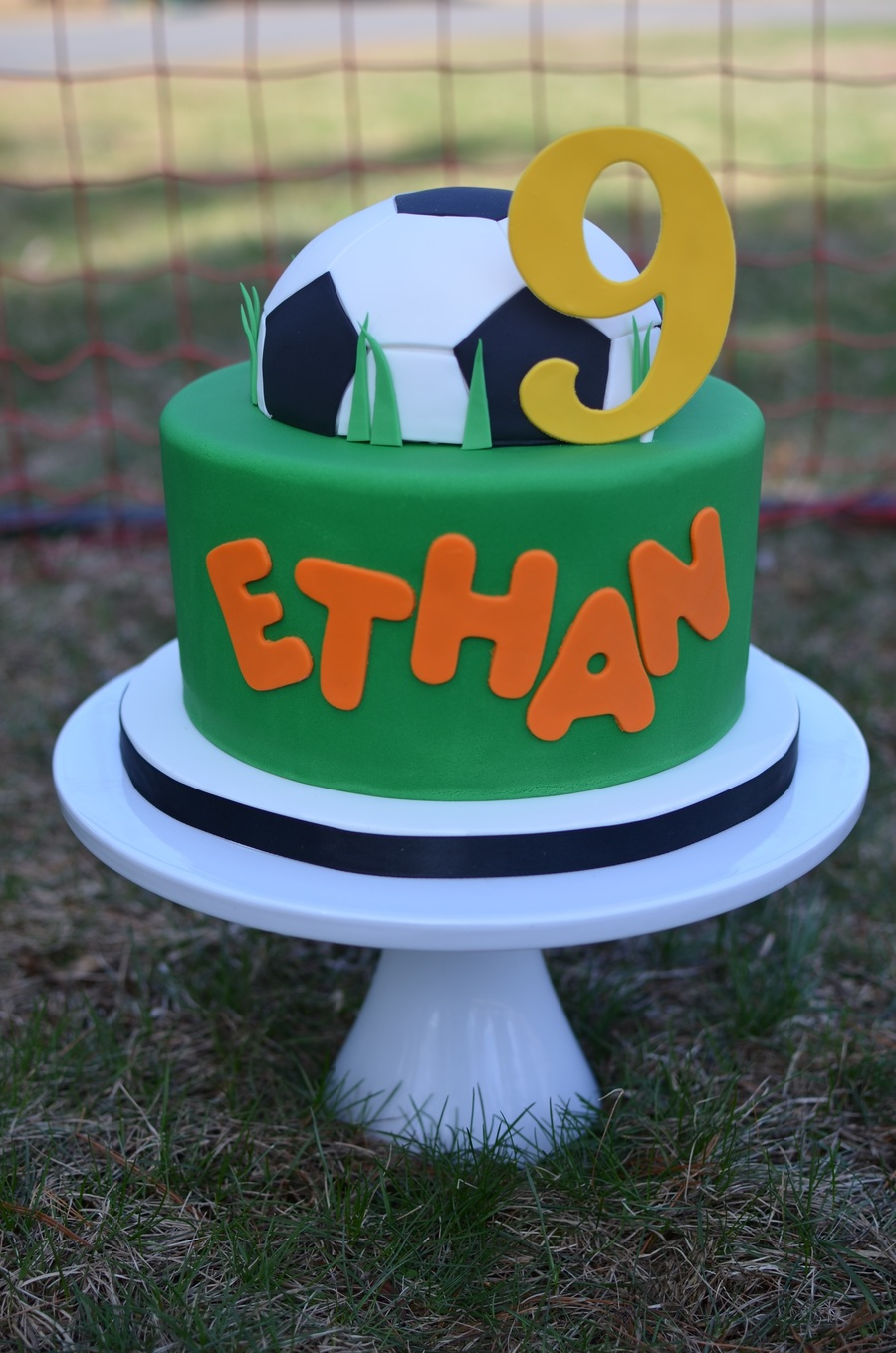 Amazing Soccer Birthday Cake Cakecentral Com Personalised Birthday Cards Paralily Jamesorg