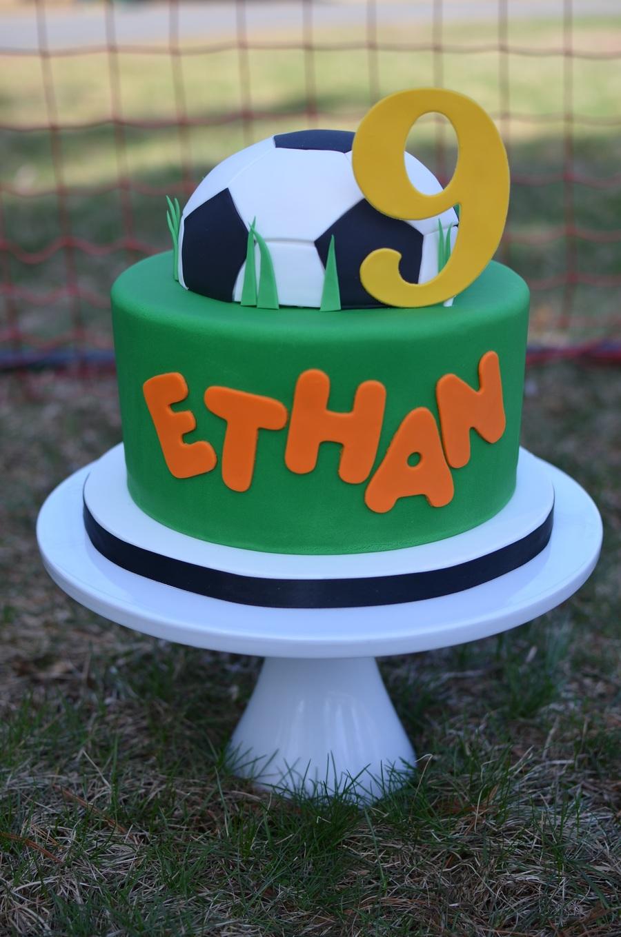 Soccer Birthday Cake Cakecentral