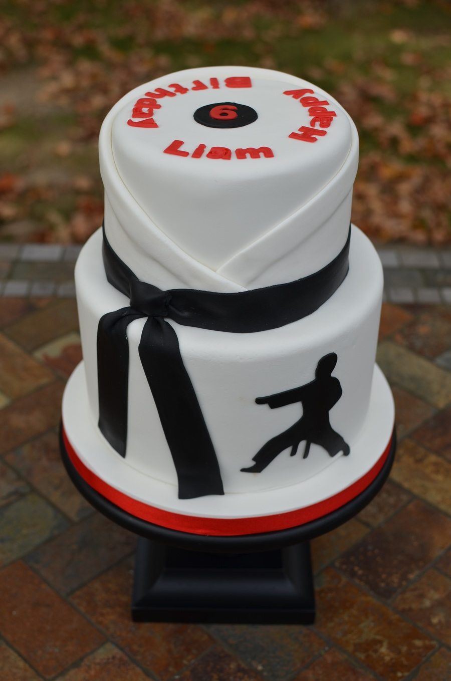 Открытка для тренера по дзюдо с днем рождения