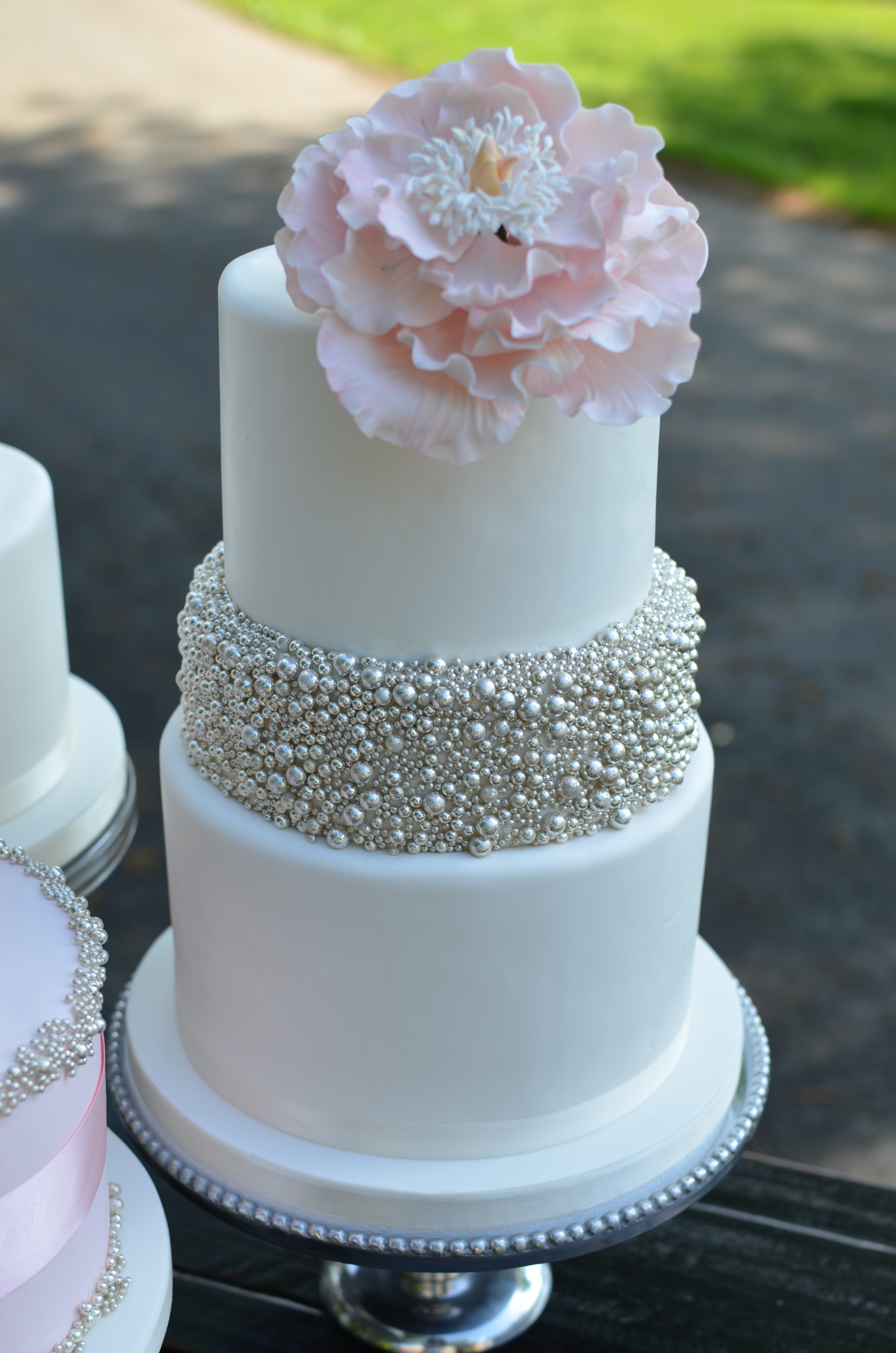 Cake Decorating Silver Pearl