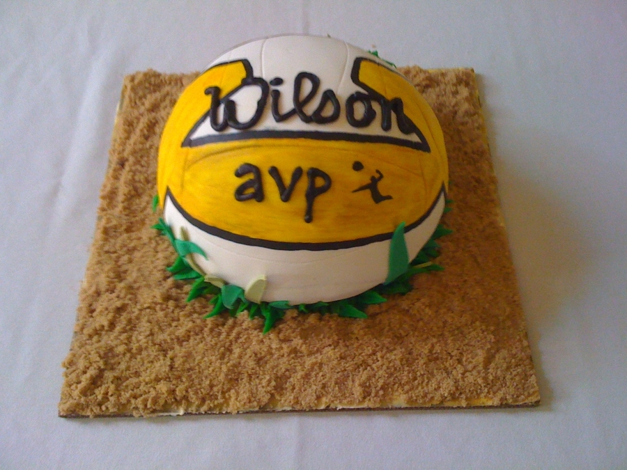 Volleyball! on Cake Central
