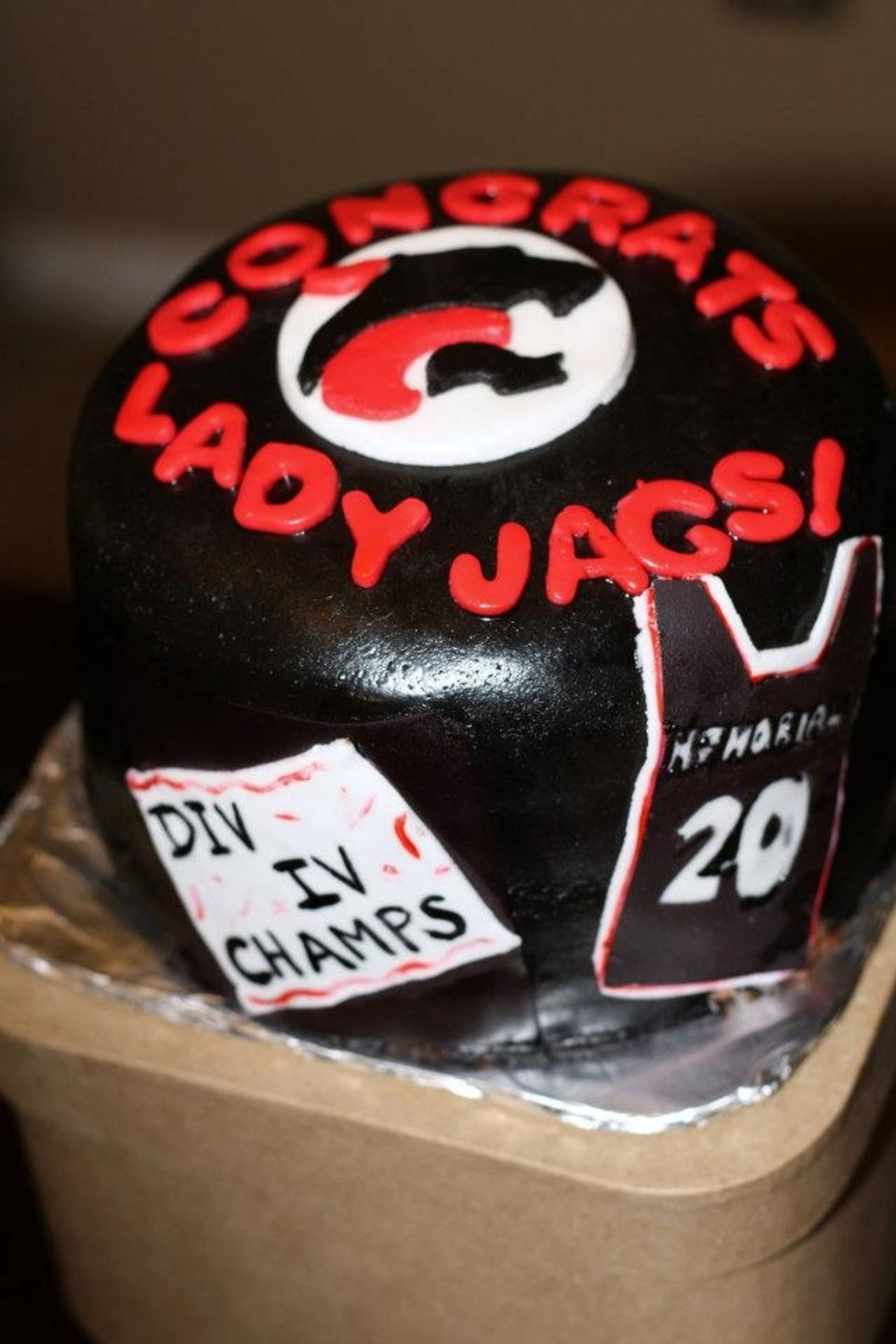 Lady Jags Division Champs on Cake Central