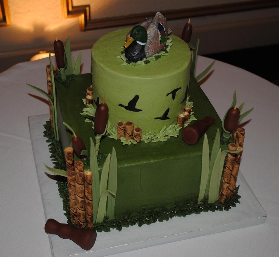Happy Birthday Hunter Cake