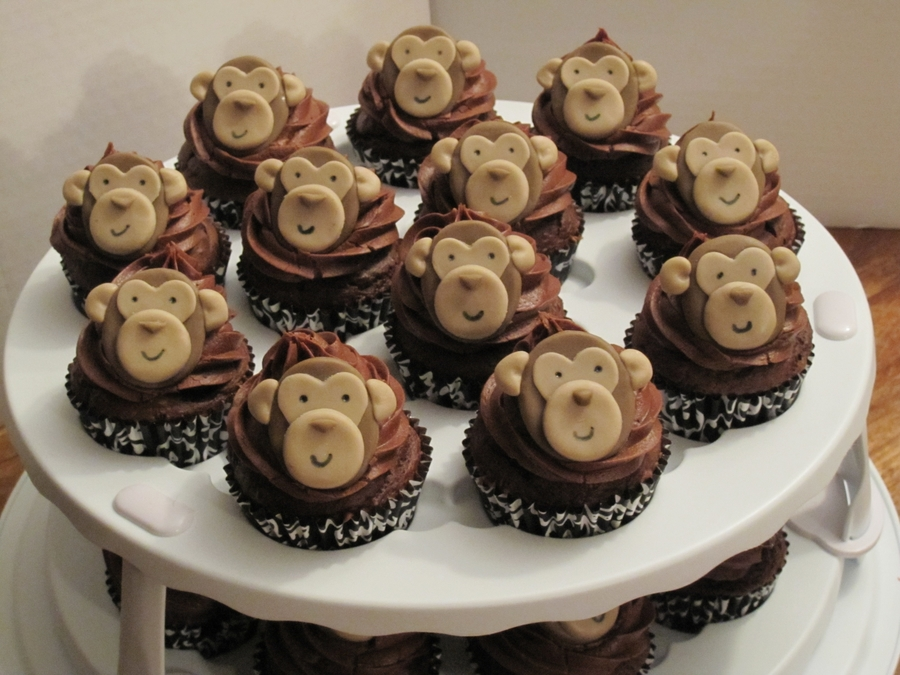 Monkey Cupcakes on Cake Central