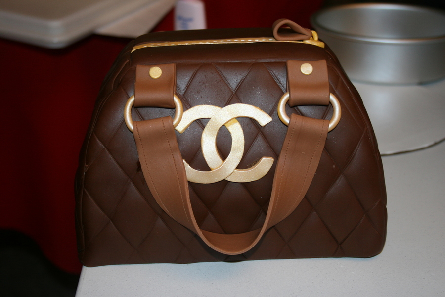 Chanel Purse Cake on Cake Central