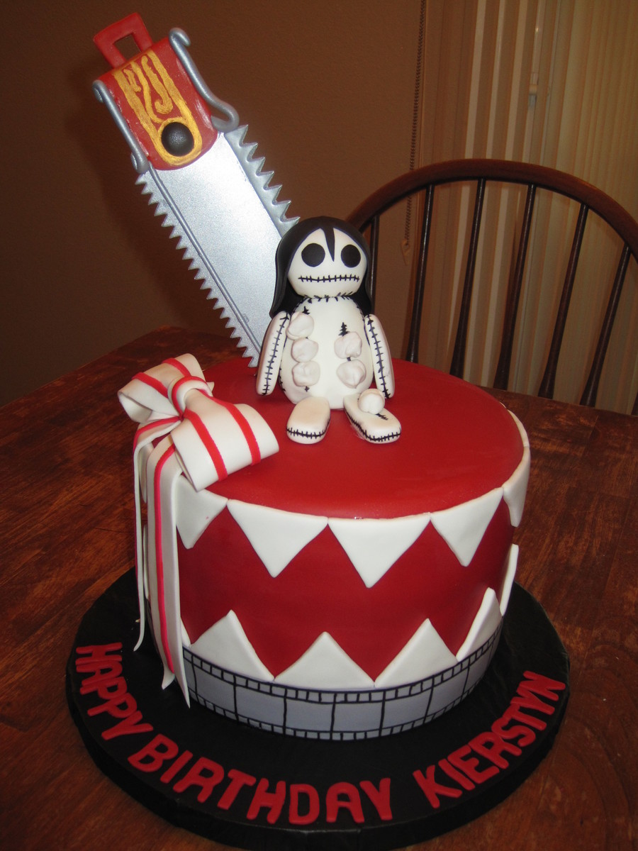 Anime Cake I Was Asked To Do For A Young Ladys Birthday Mom Provided A Photo Of The Design She Wanted on Cake Central