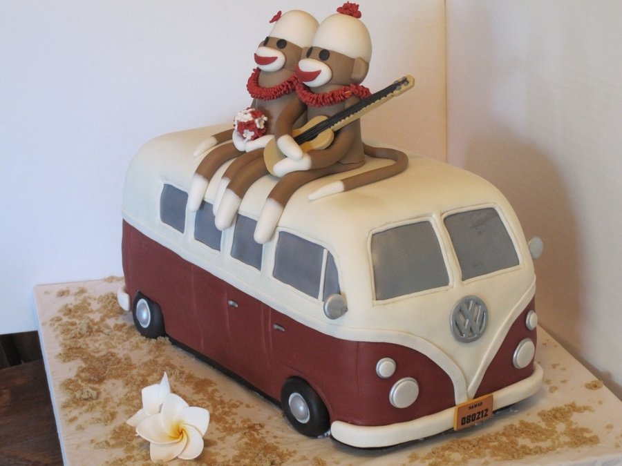 Vw Bus Wedding Cake