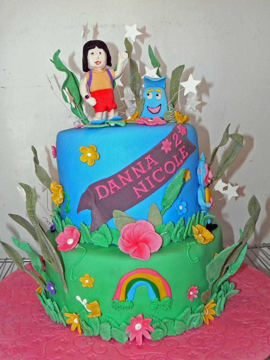 Dora The Explorer For Danna Nicole On Cake Central
