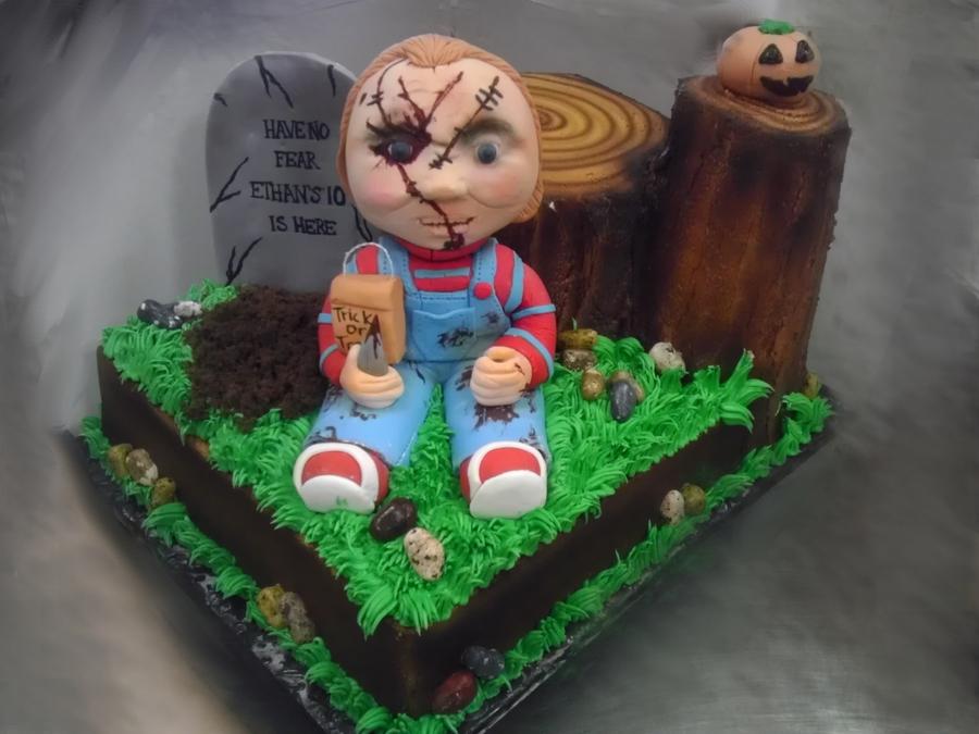 Chucky Halloween Birthday Cake Cakecentral
