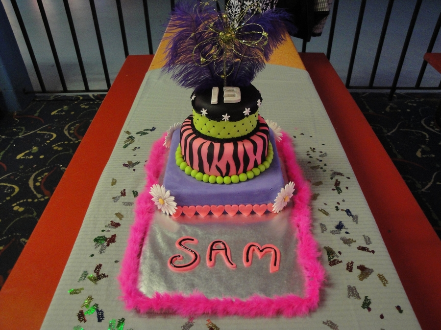 Cake For My Niece's 13Th Birthday on Cake Central