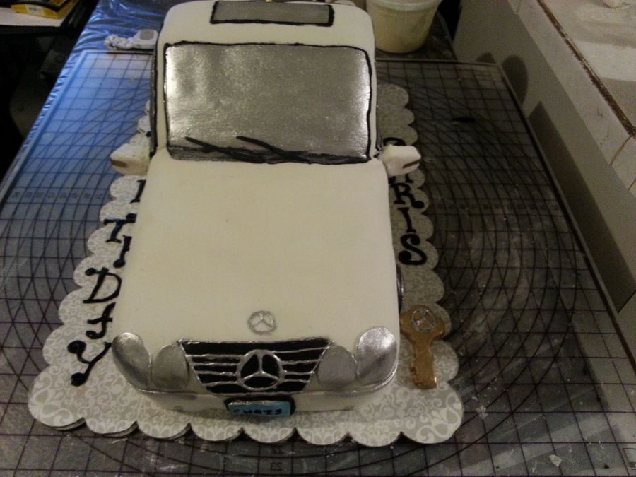 Mercedes Benz Cake on Cake Central