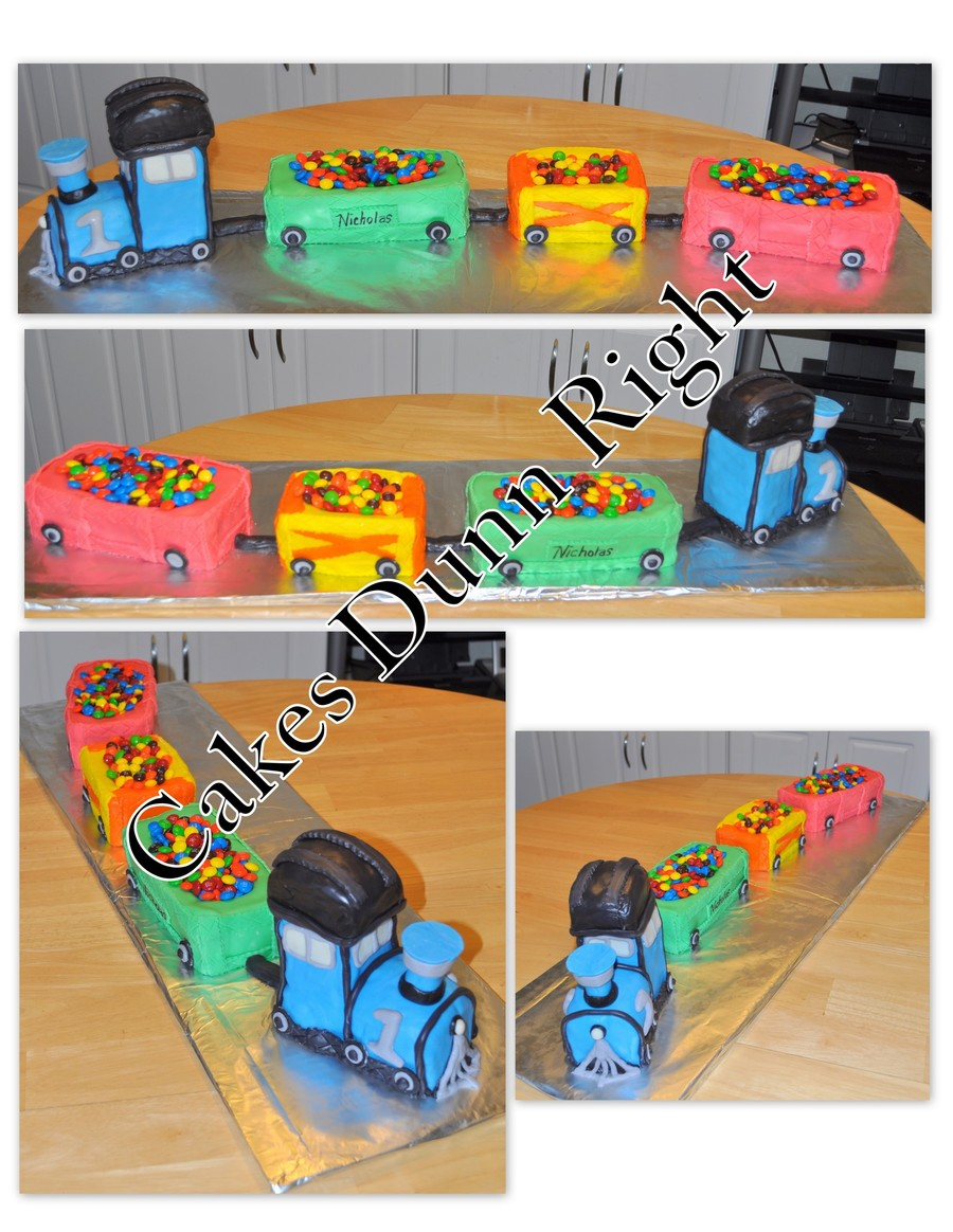 1St Birthday Train on Cake Central