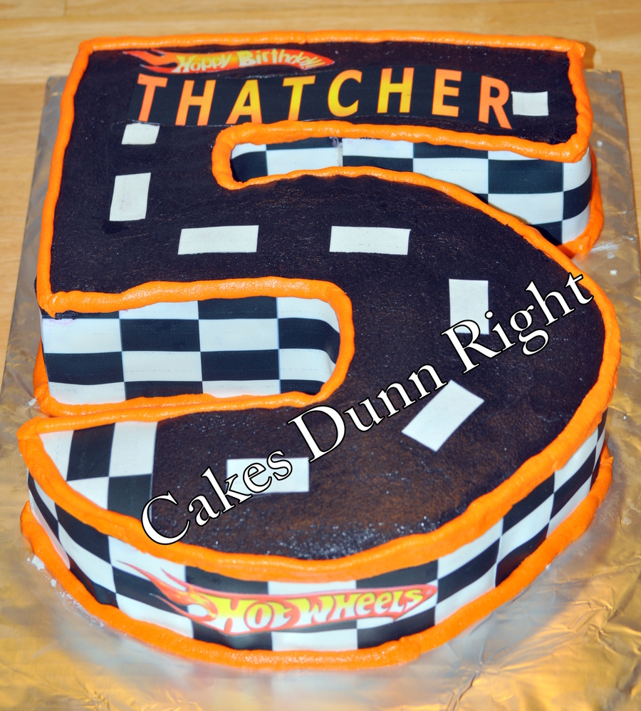Hot Wheels Birthday  on Cake Central