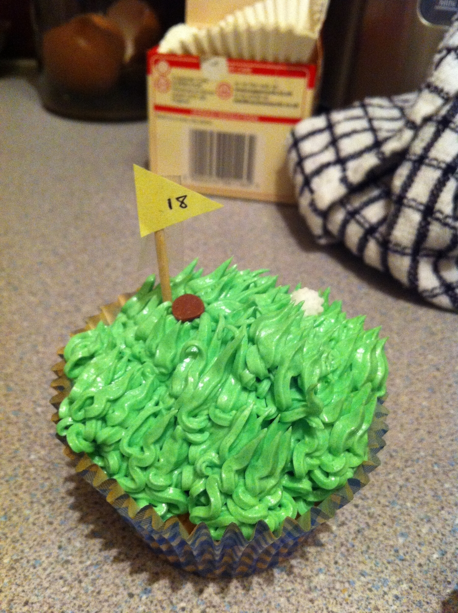 Golf Cupcakes on Cake Central