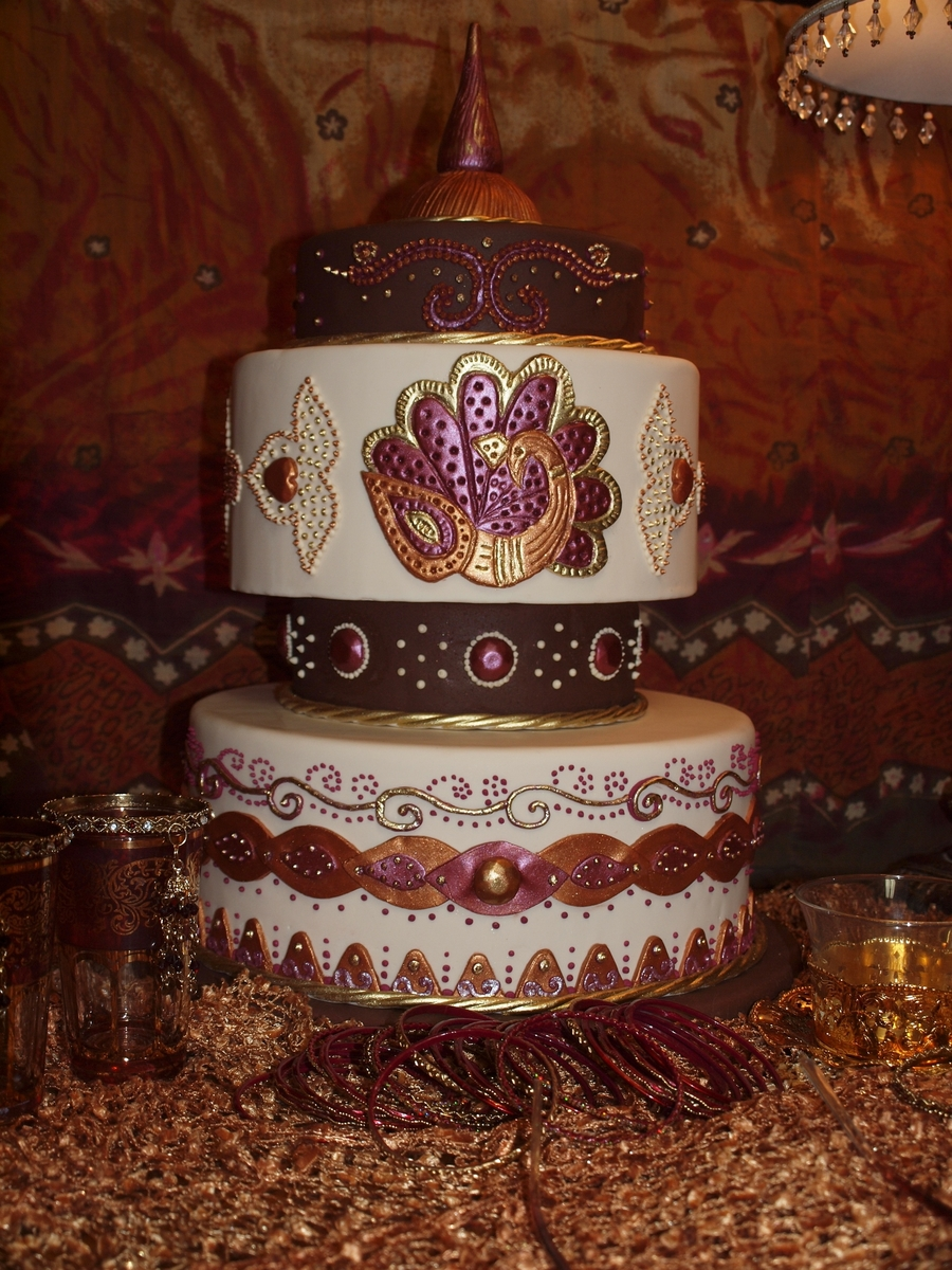 my mehndi cake design   cakecentral