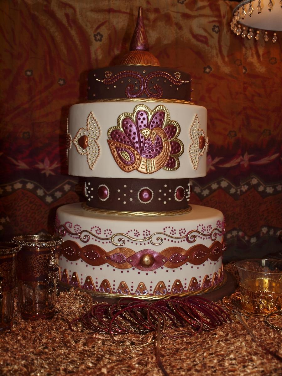 My Mehndi Cake Design Cakecentral Com