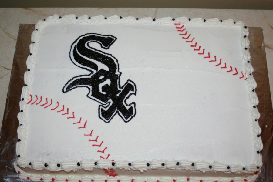White Sox Cake