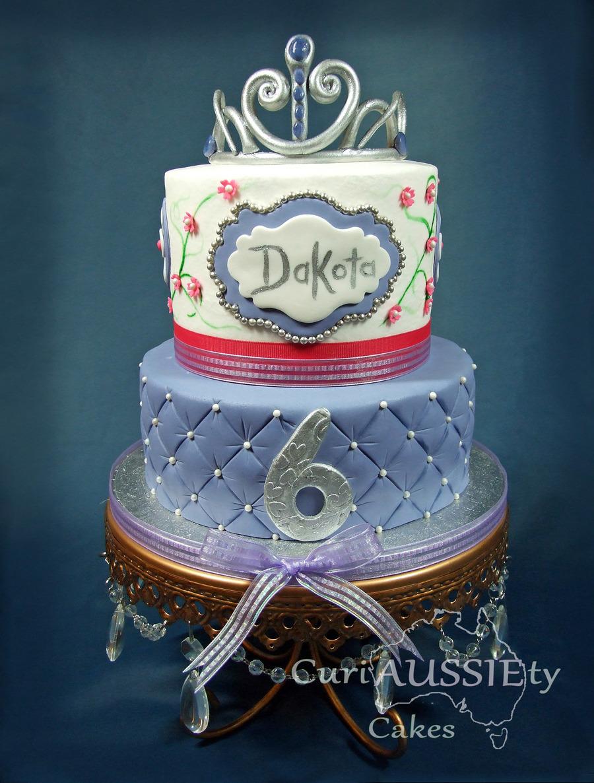 Princess Sofia The First Theme Birthday Cake Cakecentral