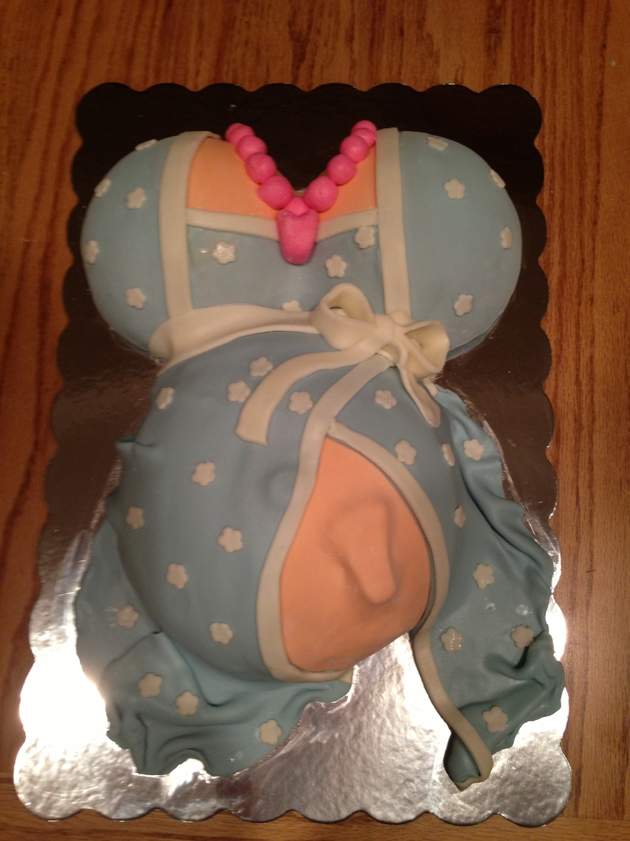 Belly Bump Cake on Cake Central