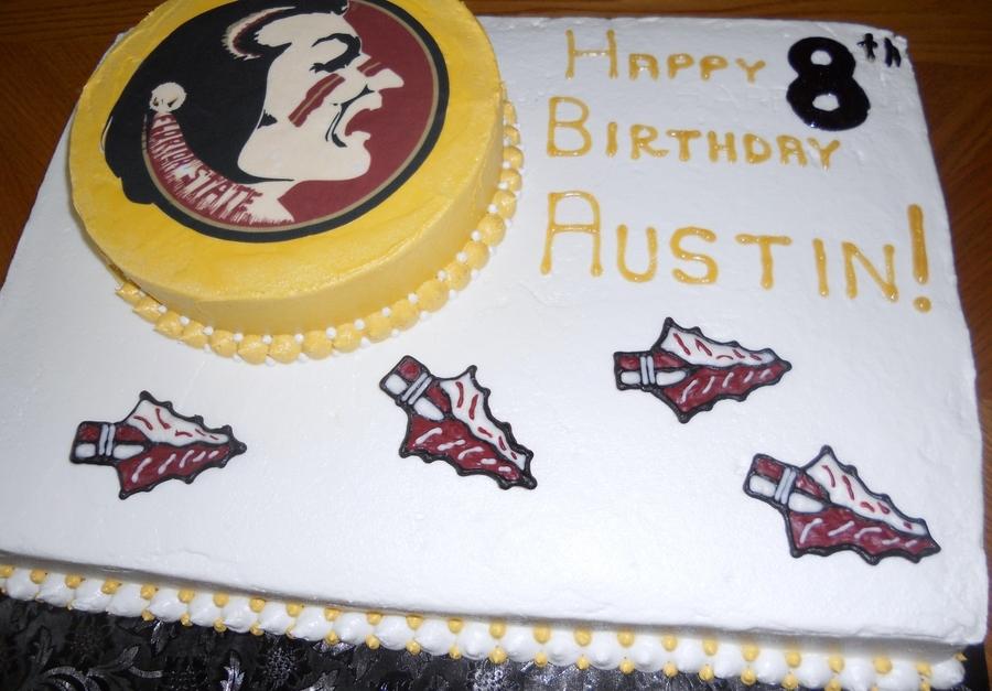 Florida State Seminoles Birthday Cake Cakecentral