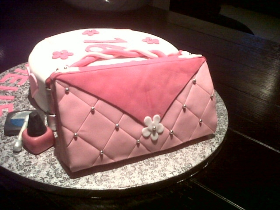 Purse And Make Up on Cake Central