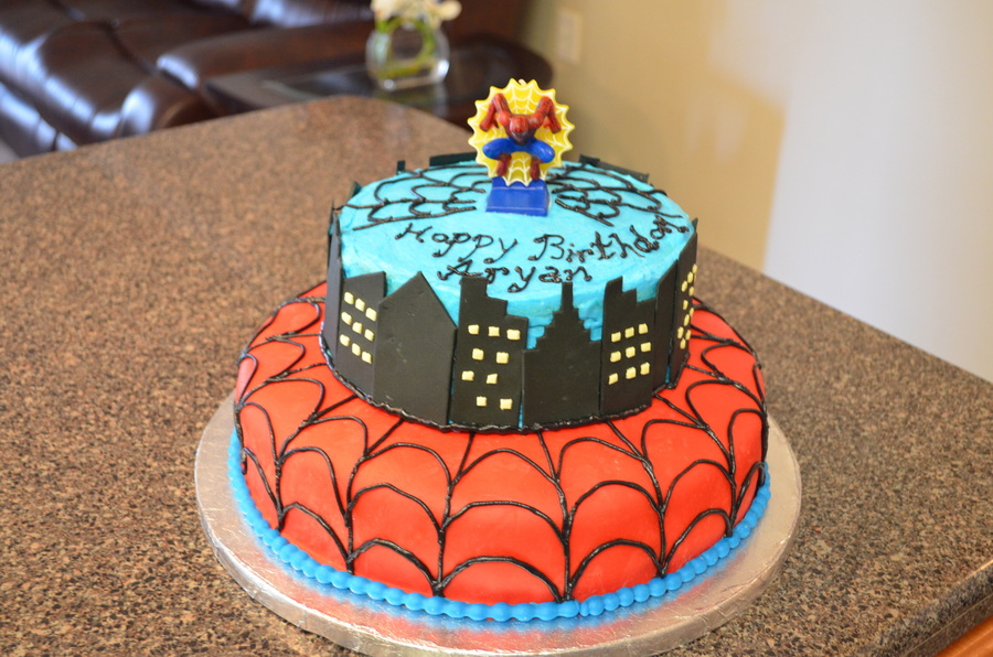 I Made This Cake For A 6 Year Old  on Cake Central