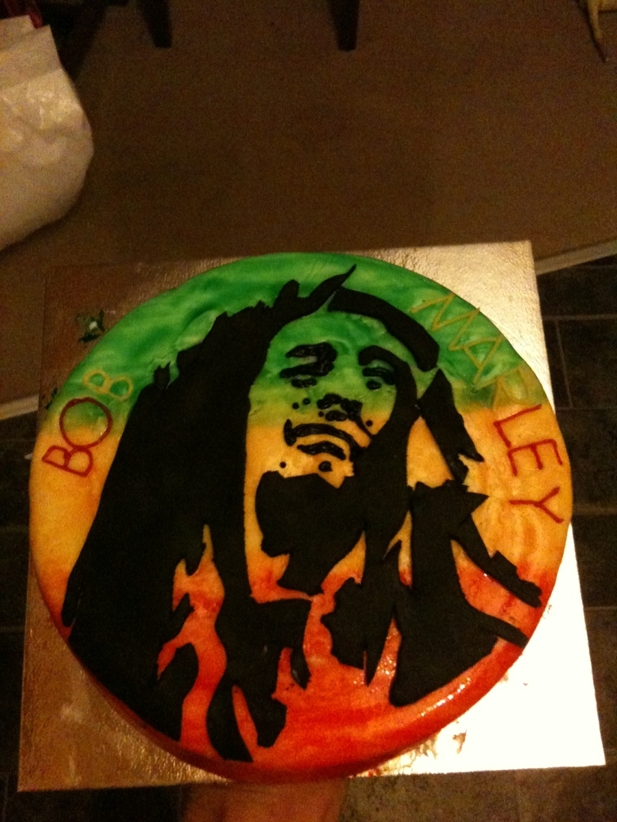 Bob Marley Cake on Cake Central