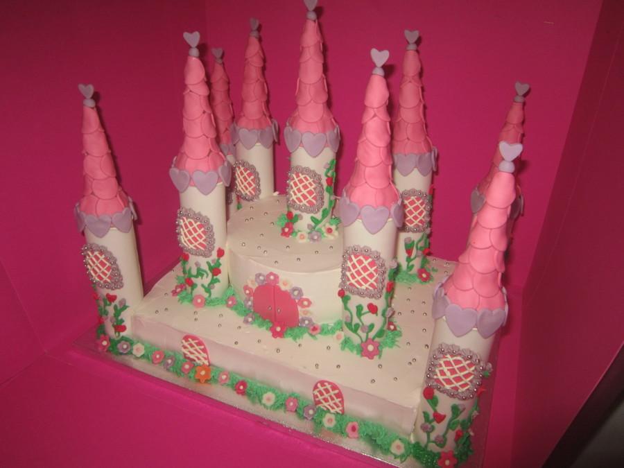 pink white castle