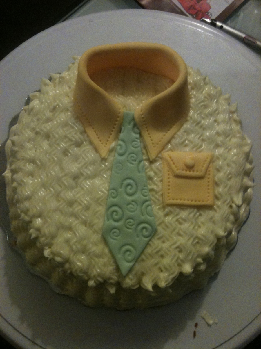 Pineapple Tie Cake on Cake Central