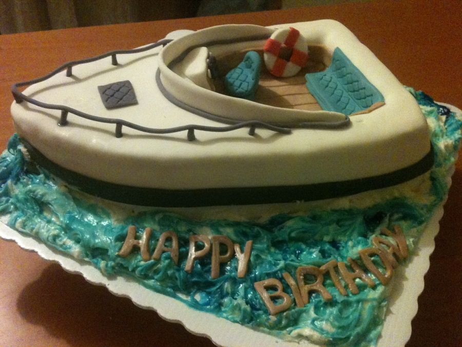 Boat - CakeCentral.com