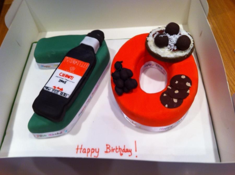Cool 70Th Italian Birthday Cake Cakecentral Com Personalised Birthday Cards Beptaeletsinfo