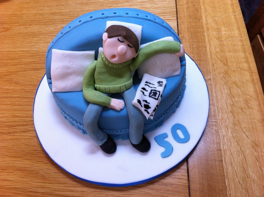 Sleeping Man Cakecentral Com