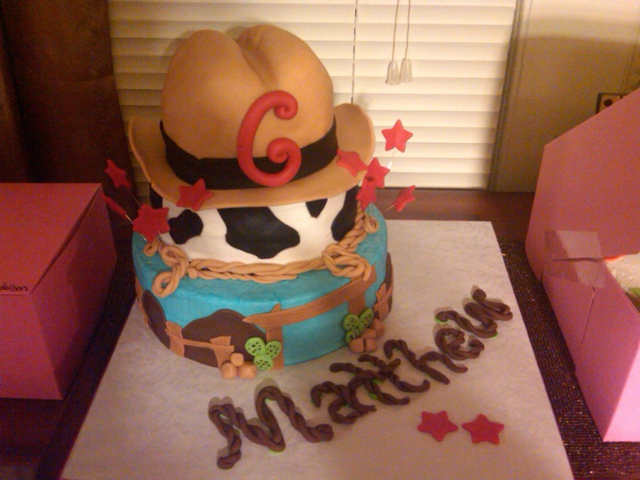 Cowboy Theme  on Cake Central