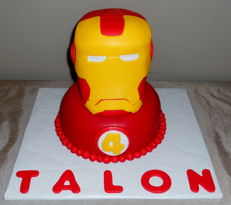 Ironman For Talon on Cake Central